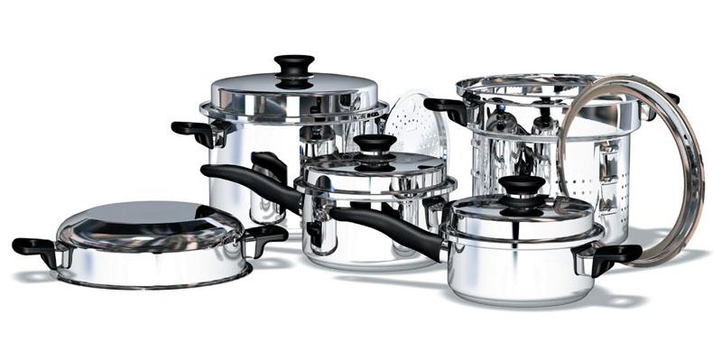 Готовим c помощью посуды iCook™ из стали